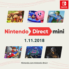 A Nintendo Direct Mini is here ...