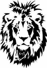 Lion Head Wild Animal Art Graphic Vinyl Sticker