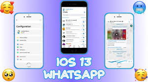 iOS 13 WhatsApp V7.90 iOS 13 Theme || With iOS 12.1 Emoji's |