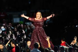 Adele Christmas party pictures trending for wrong reason