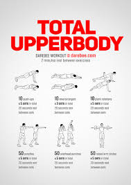 total bodyweight upperbody workout