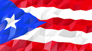 flag of puerto rico 3d stock fooe