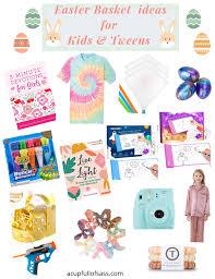 easter basket ideas for kids and tweens