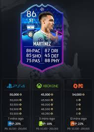 Inversiones TOTGS - FIFA 20 Ultimate Team