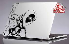 Deadpool Macbook Air Pro Decal Sticker 0142mac Macbook Decal Macbook Decal Stickers Macbook