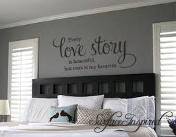 Every Love Story Is Beautiful Vinyl Wall Decal Art Surface Inspired Home Decor Wall Decals Wall Art Wooden Letters