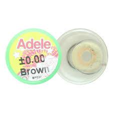 Contact Lens Dueba Adele Brown Color Lens - Korean-Lens.com