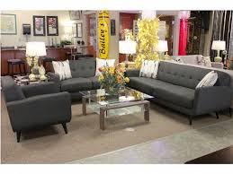 hadley charcoal retro chic sofa