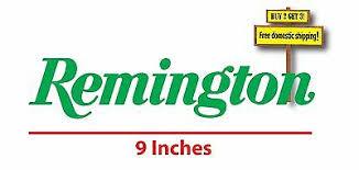 Remington Vinyl Sticker Car Truck Window Decal Gun Rights Pistol Rifle Nra Labe