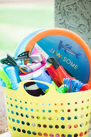 fun and inexpensive summer gift basket