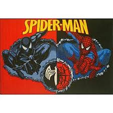 Shop Kids Red Black Spider Man Area Rug 3 X 5 Multi Overstock 4433815
