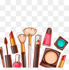 cartoon cosmetics png transpa