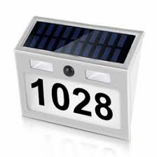 Solar Light House Numbers Nz Buy New Solar Light House Numbers Online From Best Sellers Dhgate New Zealand