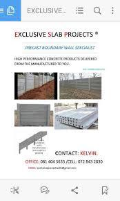 Precast Walls Pillars Stop Nonsense Pre Cast Products Suppliers Caps Construction Home Improvement 1062299196