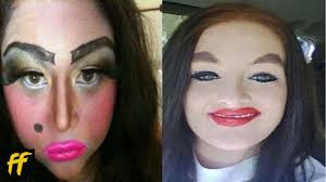 25 worst makeup fails ever you