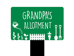 grandad gift plaque sign grandads allotment