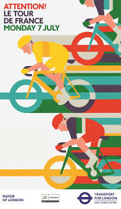 Tour de France by Adrian Johnson (con imágenes) | Cartel de ...