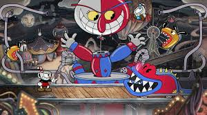 video game cuphead beppi the clown