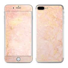 Apple Iphone 7 Plus Skin Rose Gold Marble By Marble Collection Decalgirl