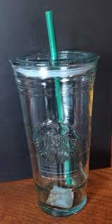 new starbucks recycled glass cold cup
