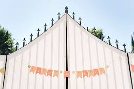 See How One Couple Threw A Peach Themed First Birthday Party