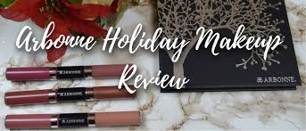 arbonne holiday makeup review