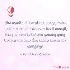 jika wanita di ibaratkan quotes writings by arin on a