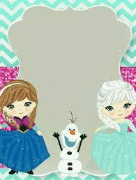Plantilla Frozen Invitaciones De Frozen Fiesta De Frozen