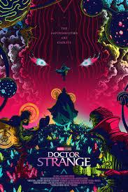 Doctor Strange Limited Edition Marvel Poster By Florey Grey Matter Art