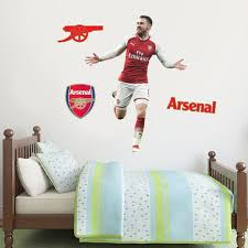 Arsenal Fc Aaron Ramsey Player Decal Gunners Wall Sticker Etsy