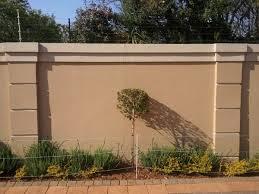 Flush Plastering Fence Wall Design Gate Wall Design Exterior Wall Design