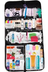organize your travel toiletry bag