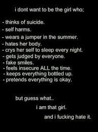 depressing quotes depressed depression sad suicide eating