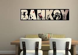 Banksy Wall Stickers Wallartdirect Co Uk