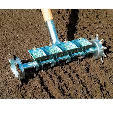 four row pinpoint seeder garden tools
