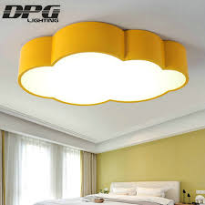 Led Cloud Kids Room Lighting Children Ceiling Lamp Baby Ceiling Light With Yellow Blue Red White For Boys Girls Bedroom Fixtures Ceiling Lights Room Lightbaby Ceiling Light Aliexpress