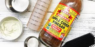 diy apply cider vinegar hair mask