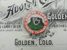Adolph Coors Golden Brewery 1901 Fancy Colorado Mining town Billhead,signed  paid | #403305197
