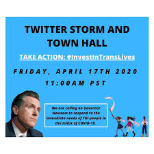 TODAY! TWITTER TOWN HALL AT 11AM PST ...