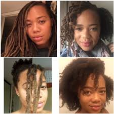 i bed out my locs after 27 years