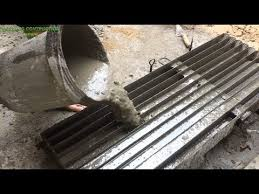 How To Make Cement Concrete Molds Precast Skills To Construction Beautiful Fences Easily Youtube