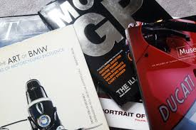 motorcycle coffee table books