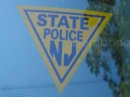 Nj Njsp New Jersey State Police Window Decal Sticker 24691011