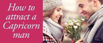 how to attract a capricorn man using