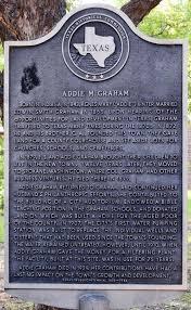 Addie M. Graham Historical Marker