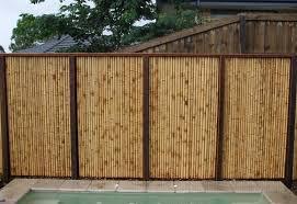 Unique Bamboo Fence Design Idea Jpg 872 600 Bamboo Fence Bamboo Panels Fence Design