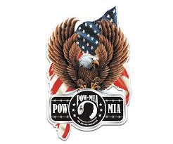 Eagle Pow Mia Decal Flag Military Soldier Memorial Vinyl Sticker Rh Rotten Remains High Quality Stickers Decals