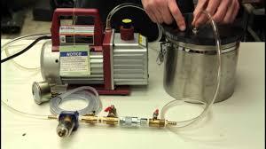 diy vacuum chamber setup you