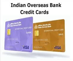indian overseas bank credit card credit