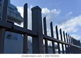Perimeter Fence Images Stock Photos Vectors Shutterstock